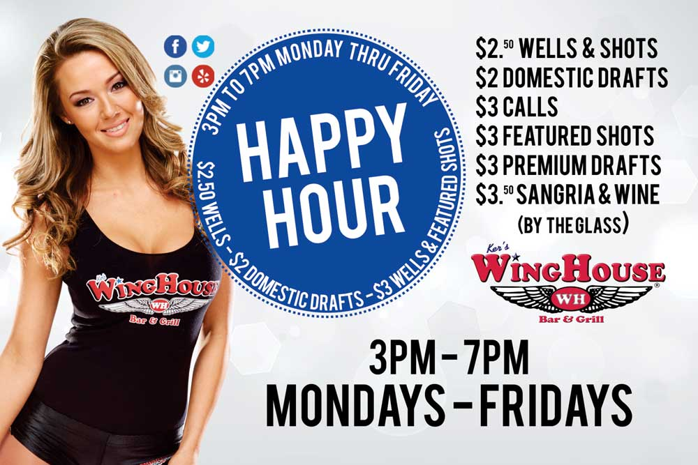 2016 Happy Hour Flyer