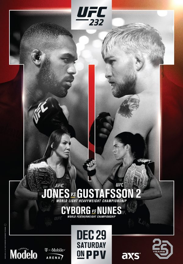 UFC 232 JONES VS. GUSTAFSSON 2 December 29