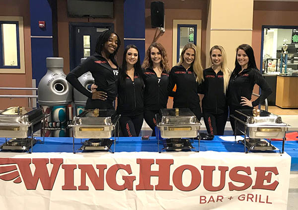 WingHouse Girls at Event