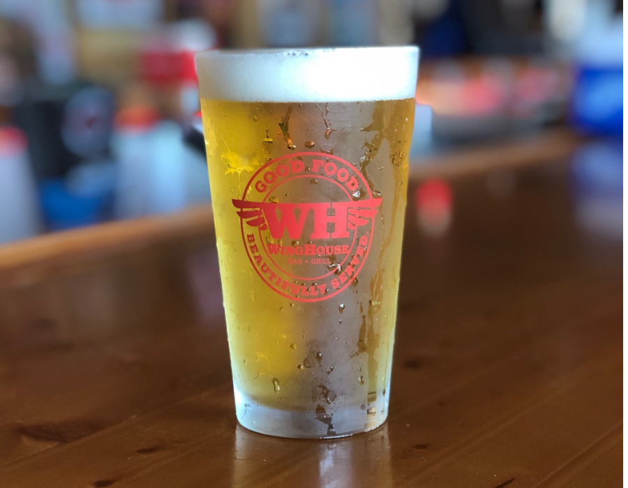 WingHouse Happy Hour Beer Pint