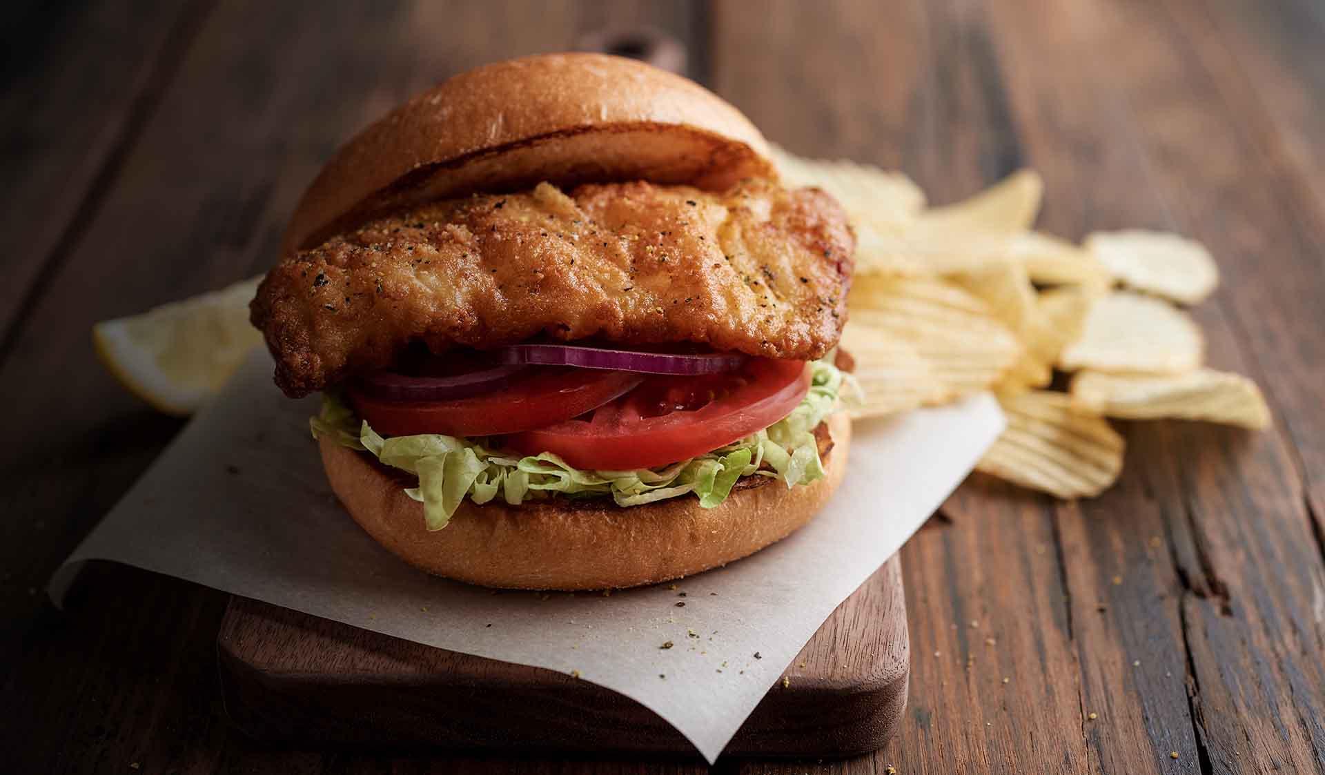 Crispy Codd Sandwich