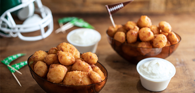 Authentic Wisconsin cheese curds