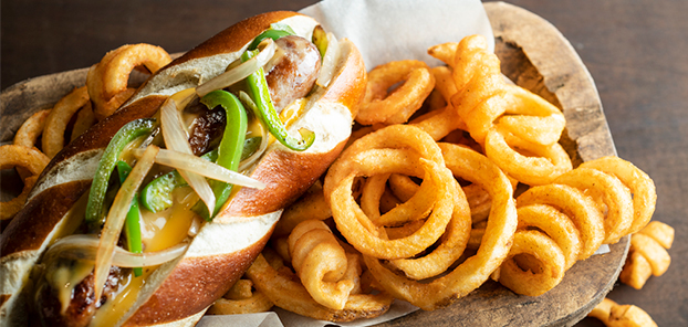 Smithfield® BRAT with fries