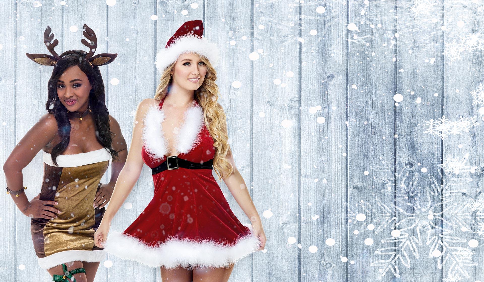 Dress to Impress Santa's Saucy Helpers