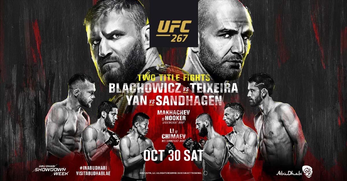 UFC fight night 10-30-21