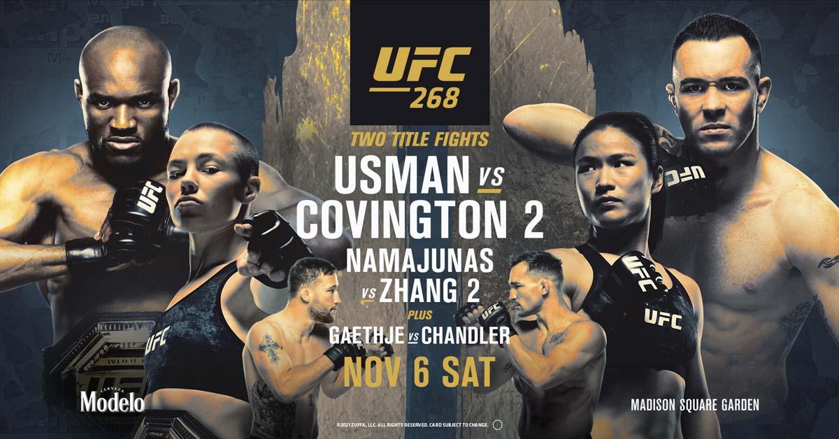 UFC fight night 11-6-21